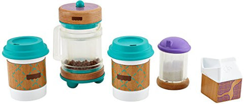 Fisher-Price Wooden Toys Early Bird Barista Set