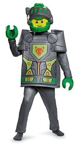 Disguise Aaron Deluxe Nexo Knights Lego Costume, Large/10-12