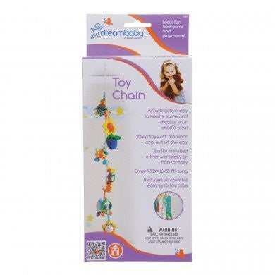 Dream Baby Toy Chain - Color May Vary - 2 Packs