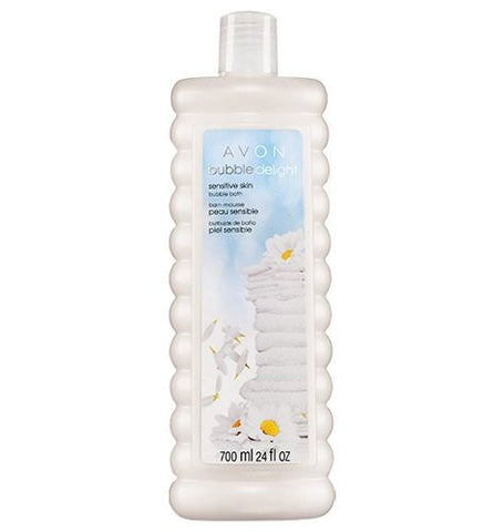 Avon Bubble Bath Delight Sensitive Skin 24 oz. gentle