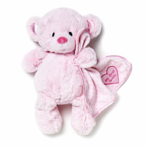 Nat and Jules Plush Toy, Pink My First Teddy Bear