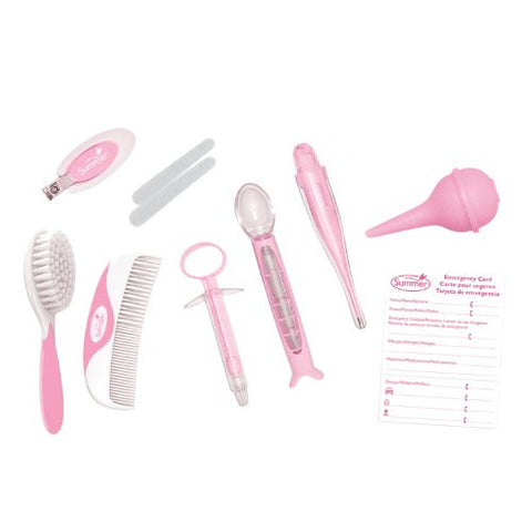 Summer Infant Health and Grooming Kit, Pink/White