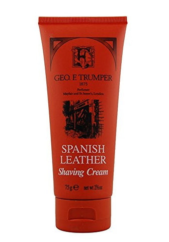 Spanish Leather Shaving Cream 75g shaving cream by Geo F. Trumper