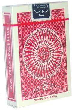 Tally-Ho Playing Cards - Circle Back - RED
