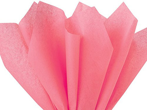 Gift Wrap Tissue Paper 15 X 20 - 100 Sheets (Coral Rose)