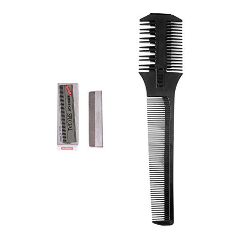 ShearsDirect Black Carving Comb, 1.1 Ounce