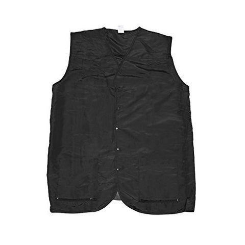 Betty Dain Cool Vent Mesh Back Barber Vest, Black, XL