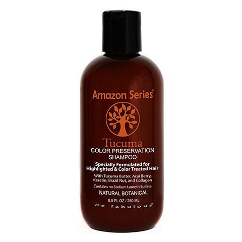 Amazon Series Tucuma Color Preservation Shampoo, 8.5 Fluid Ounce