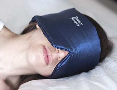 #1 Rated - Dream Sleeper ® Sleep Mask Blocks Out 100% Of All Light. Master Your Sleep. If You Lose It We Will Replace It for free.