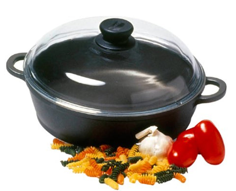 Berndes Tradition 11 Inch Sauteuse Pan with Glass Lid