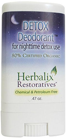 Herbalix Restoratives Nighttime Detox Cleansing Deodorant, .47 Ounce