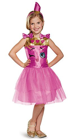 Disguise Lippy Lips Classic Shopkins The Licensing Shop Costume, Medium/7-8