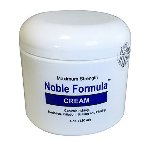 Noble Formula Pyrithione Zinc (ZnP) .25% Maximum Strength Cream, 4 oz