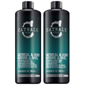 Tigi Catwalk Oatmeal &Amp; Honey Shampoo And Conditioner 25.36 Oz Tween