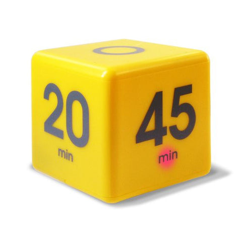 Datexx The Miracle Cube Timer, Yellow