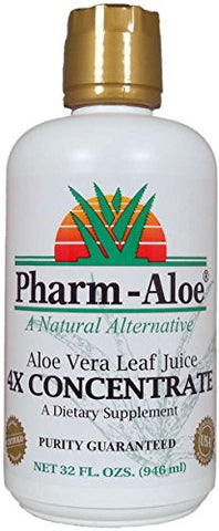 Pharm-Aloe® Aloe Vera Leaf Juice 4X CONCENTRATE