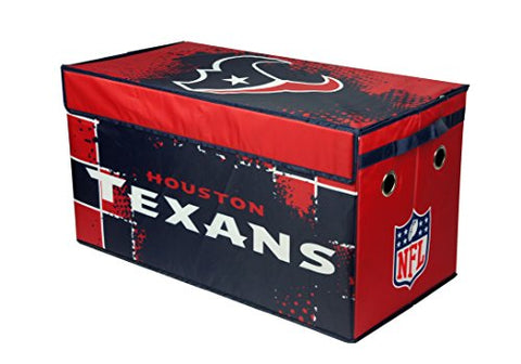 NFL Houston Texans Collapsible Storage Trunk