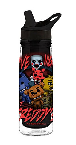 Funko Five Nights at Freddy's Acrylic Water Bottle
