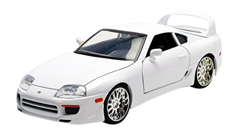 Jada Toys Fast & Furious 1995 Toyota Supra 1:24 Diecast Vehicle, White