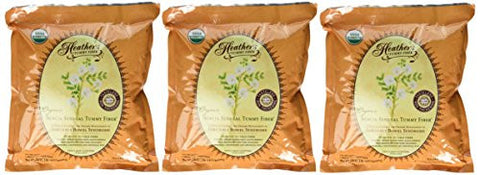 Heather's Tummy Fiber Acacia Senegal BULK KIT (3 - 1lb. pouches) ~ Organic Acacia Senegal for Irritable Bowel Syndrome