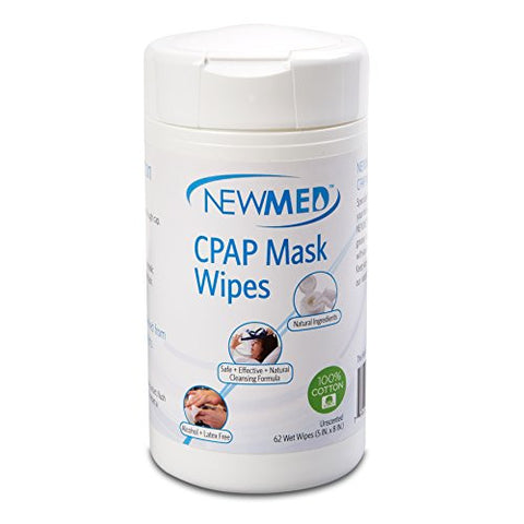Newmed CPAP Mask Wipes - 62 wipes