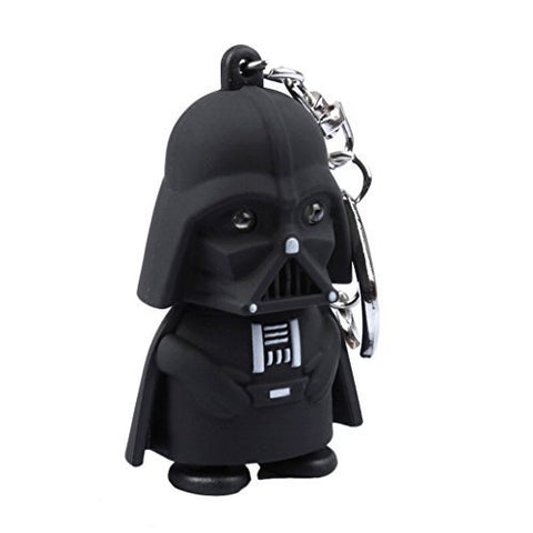 Star Wars Keychain Darth Vader with LED flashlight and sound
