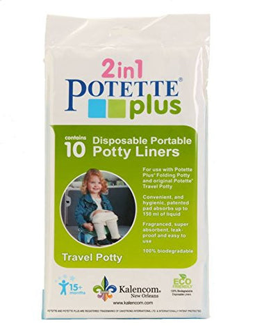 Kalencom Potette Plus On the Go Potty Liner Re-Fills