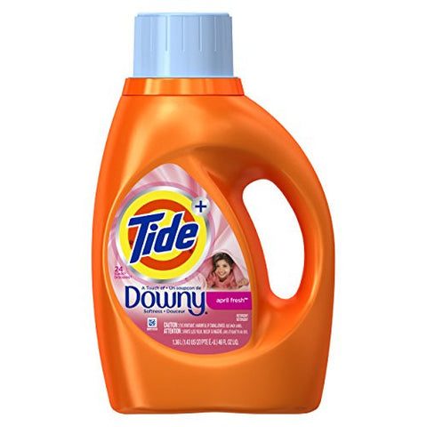 Tide With Downy Liquid Laundry Soap (April Fresh, 46oz)