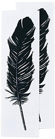 Tattly Temporary Tattoos, Feather, 0.1 Ounce