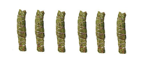 New Age Cedar Smudge Stick - smudge sticks x2, total 6 sticks