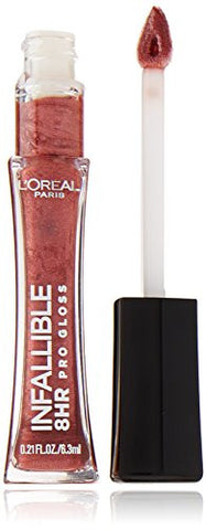 L'Oreal Paris Infallible 8HR Le Gloss, Modern Mauve, 0.21 Ounces