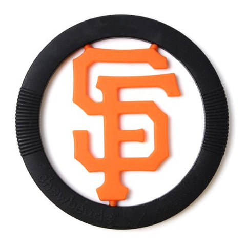 Chewbeads MLB Gameday Teether, 100% Safe Silicone - San Francisco Giants