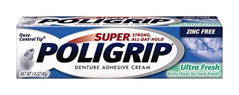 Super Poligrip Ultra Fresh, 1.4-Ounce Packages