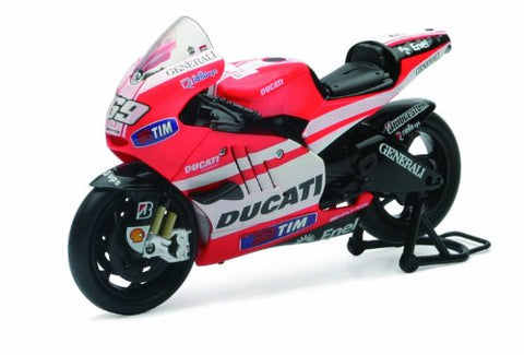 New Ray Toys Street Bike 1:12 Scale Motorcycle - Ducati MotoGP Nicky Hayden 57073