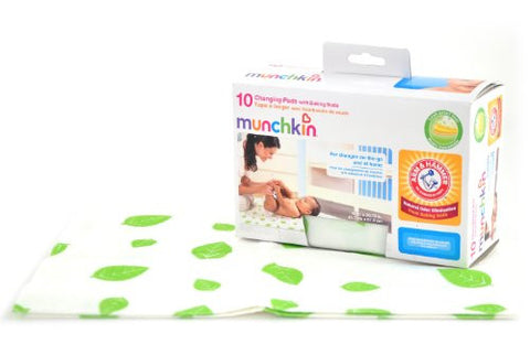 Munchkin Arm & Hammer Disposable Changing Pads - 10 ct