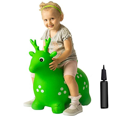 Bouncy animal, bouncy horse inflatable with pump by NDN LINE