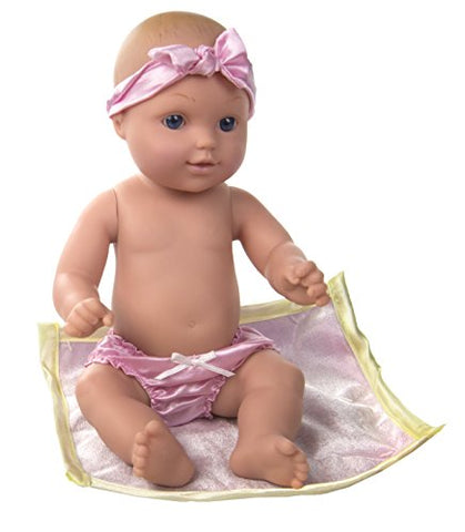 Constructive Playthings UNI-201 Children's 12 Baby Tender Touch Doll- White