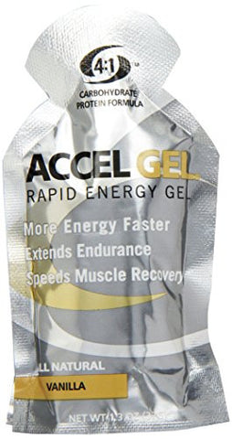 Pacific Health  Accel Gel, Vanilla, Net Wt. 1.3 Oz.