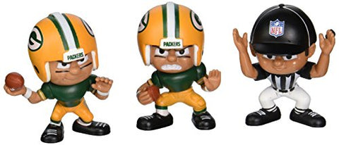 Lil' Teammates 3 Figurine Green Bay Packers NFL Team Set