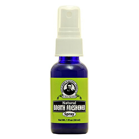 Uncle Harry's Natural Breath Freshener Spray, 1 Fl Oz