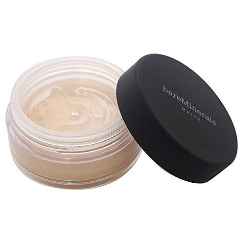 bareMinerals Matte SPF 15 Golden Fair (W10) Foundation for Women, 0.21 Ounce