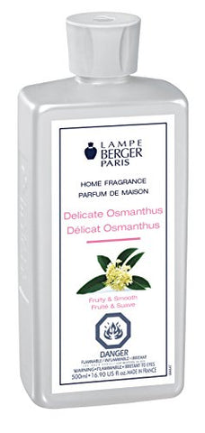 Lampe Berger 415352 500ml-Delicate Osmanthus -Delicate Osmanthus,500ml/16.9 Fl.Oz