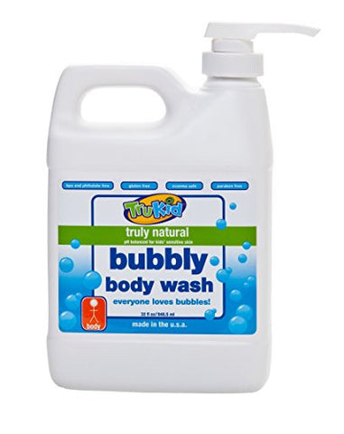 TruKid Bubbly Body Wash, 32 Ounce