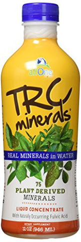 All One TRC Minerals Liquid, Unflavored, 32 Fluid Ounce