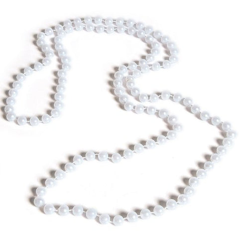 Rhode Island Novelty Pearl Necklaces  48 7MM White Pearl