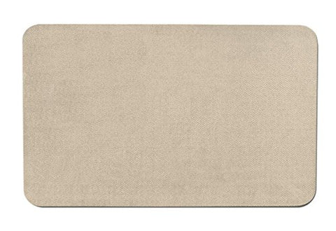 Skid-resistant Carpet Indoor Area Rug Floor Mat - Ivory Cream - 2' X 3' - Many Other Sizes to Choose From