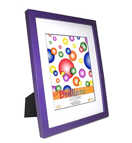 Timeless Expressions Brilliance Wall Frame, 11 x 14 , Purple