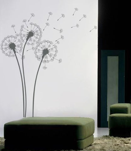Pop Decors Wall Decals for Nursery Room, Dandelions