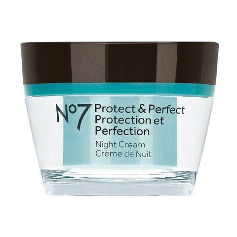 Boots No7 Protect & Perfect Night Cream 50ml(1.6 fl oz.)