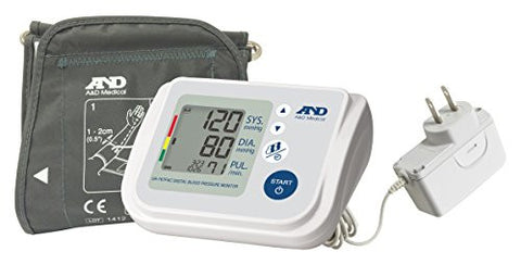 A&D Medical (UA-767FAC) Premium Multi-User Blood Pressure Monitor with AC Adapter